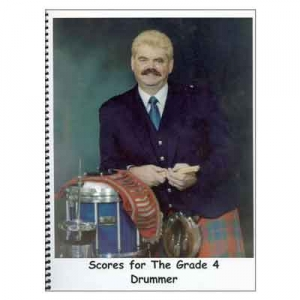 Buzz Brown - Scores for the Grade 4 Drummer