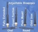 Blowpipe - Gibson adjustable