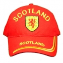 Baseball hat - Scotland Red